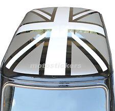 Mini Rover - Mini Cooper Classic - Adesivi Union Jack per tetto nero