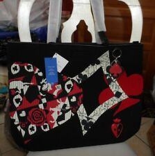 Disney Alice in Wonderland Painting the Roses Red Iconic Tote by Vera Bradley