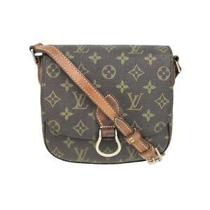 100% Authentic Louis Vuitton Monogram Saint Cloud MM M51243 [Used] {07-408B}