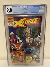 X-Force #1 CGC 9.8 NM+/M Liefield Wraparound Cover Deadpool Marvel1991 white UPC