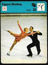 1978 Sportscaster Card Figure Skating Pairs # 23-16 NRMINT.
