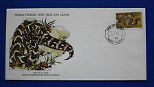 Lesotho (271) 1979 Reptiles - Puff Adder WWF FDC