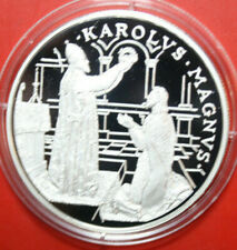 Andorra: 10 Diners 1996 Silber Proof, KM# 121, Gem Proof-PP, #F3435