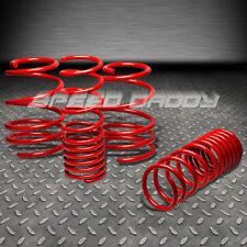 "1.9"" DROP SUSPENSION LOWERING SPRINGS/SPRING 92-01 MIT MIRAGE DE/ES/LS 4G93 RED"