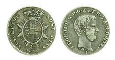 pci1455) FIRENZE - Leopoldo II di Lorena (1824-1859) - Mezzo paolo - 1853