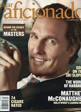 MATTHEW McCONAUGHEY [  CIGAR AFICIONADO MAGAZINE ] APRIL 2011  NEW UNREAD MINT