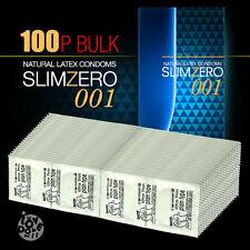 Unidus SLIMZERO001 Ultra Thin 0.02mm Bulk Condoms 100P (No Box Package)