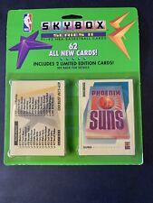 1991-92 NBA Skybox Basketball Blister Pack series 2  62 Cards!!!