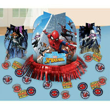 Spider-man Table Decorating Kit Birthday Party Supplies Center Piece