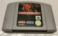 N64 FIGHTERS DESTINY N64 Nintendo GOOD CONDITION Fast Post