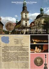 ■■■ Poland 2009 2 Zlote Polish Cities TRZEBNICA Jadwiga Sanc in Blister UNC ■■■