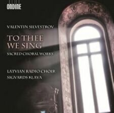 Silvestrov: To Thee We Sing: Sacred Choral Works, New Music