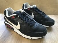 MEN'S NIKE AIR Max Command Leather Trainers UK 8 EUR 42.5 US 9 Black White Red