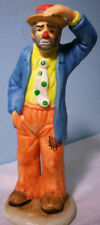 Emmett Kelly Jr. Figurine, Flambro, Looking Out to See, 80's