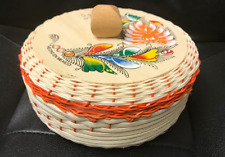 Mexican Tortilla Keeper Warmer basket Eco Friendly Handmade Made in Mexico