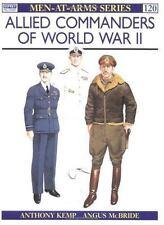 OSPREY MEN-AT-ARMS #120 ALLIED COMMANDERS WORLD WAR II NEW