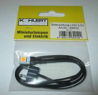 Kahlert - LED-Beleuchtung 3,5 Volt für Krippen oder Puppenhaus    NEU/OVP