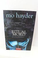 BUCH RITUALMORD MO HAYDER PSYCHOTHRILLER KRIMI THRILLER TASCHENBUCH ROMAN BOOK !