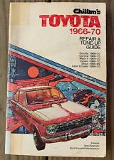 1966 1967 1968 1969 1970 TOYOTA CORONA STOUT FJ40 LAND CRUISER REPAIR MANUAL
