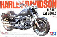 Tamiya 1/6 Harley-Davidson Fat Boy Lo  Motorcycle model kit.