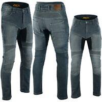 Pantaloni Jeans moto con Kevlar Per Uomo e Donna protezioni CE Protettori
