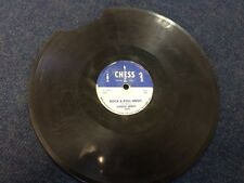 1957 CHESS RECORDS 1671 CHUCK BERRY Rock & Roll Music for label art shellac