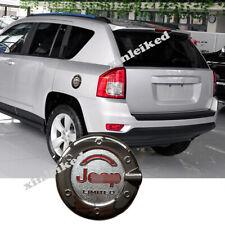 For Jeep Compass 2007-2016 Chrome Car External Gas Cap Fuel Tank Cover Trim