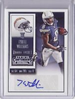 2015 Panini Contenders Autograph #284 Tyrell Williams RC Auto - Flat S/H