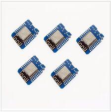 5x 5 pcs Wemos D1 Mini IOT Board ESP8266 Arduino Node Mcu, Shields Available!