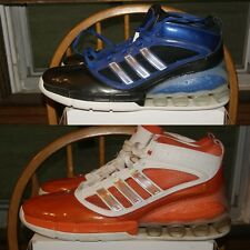 Adidas SM Rapid Bounce Pro Black Blue Orange White  Sz 19 or 20 Basketball Shoes