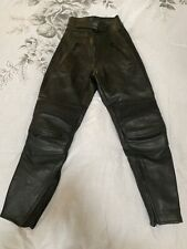 Belstaff Ladies Leather Motorcycle Trousers - Size 12 - Excellent Condition!