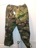 NEW US MILITARY BDU WOODLAND GORE-TEX EXTREME COLD WET WEATHER TROUSERS PANTS