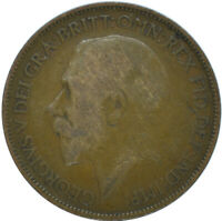 1921 HALF PENNY OF GEORGE V.     #WT15637