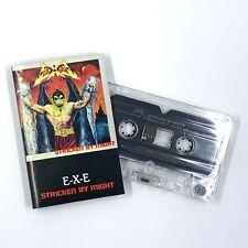 E-X-E Stricken By Might Cassette Tape 1987 Thrash Metal Rare