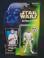 Luke Skywalker in Stormtrooper Disguise Star Wars Power of the Force 1996 Kenner