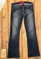 Guess Foxy Flare Stretch Denim Jeans Medium Wash Women's Size 27