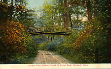BRIDGE OVER BARBOUR STREET IN KENEY PARK, HARTFORD, CONN. CT. CONNECTICUT.