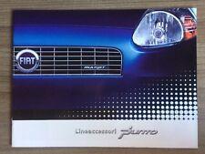 FIAT GRANDE PUNTO LINEACCESSORI gamma BROCHURE auto accessori. 3 e 5 PORTE NFS