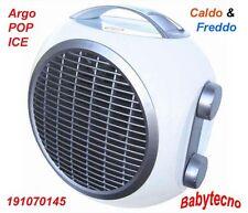 TERMOVENTILATORE ARGO POP ICE CALDO FREDDO 1000 2000 WATT WHITE 191070145 60 mc