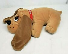 "Vintage 1998 Galoob POUND PUPPIES Large 18"" SNUGGLE & SOUNDS Huggable Plush Pup"