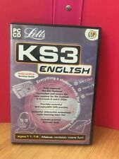 Letts KS3 English Interactive Revision Guide (Ages 11-14) (PC).