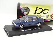 Edison 1/43 - Lancia Thema Turbo IE 1988 Bleue