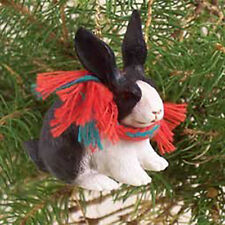 Conversation Concepts Rabbit Black & White Original Ornament