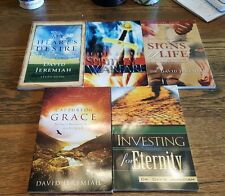 Lot of 5 Study Guides by Dr. David Jeremiah