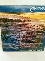 Santana Moonflower Near Mint Double Vinyl LP GATEFOLD CBS 1977 England Pressing