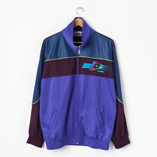 Vintage LOTTO Track Jacket in Purple Size XL Tracksuit Top Retro Colourblock 90s