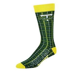 New Licensed MLS Portland Timbers FC Plaid Soccer Socks Size 10-13 jersey