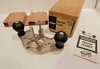 MINT ~ NEW NEVER UNPACKED STANLEY ~ No 71-P ROUTER PLANE  w/3 Cutters