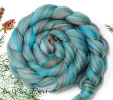 SLEEPING BEAUTY - Wool Roving Custom Blend Merino Bamboo Combed Top 4 oz