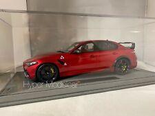 BBR MODELS 1/18 ALFA ROMEO GIULIA GTAM 2020 RED MET.ART.BBRC1852-VET